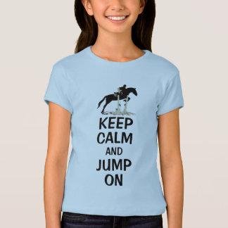 Keep Calm and Jump On Horse T-shirt