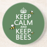Keep Calm and Keep Bees - all colours