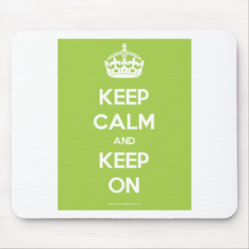 Keep-Calm-And-Keep-On.pdf Mousemat