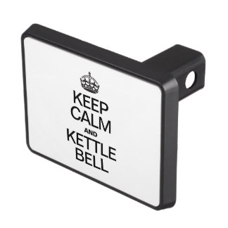 KEEP CALM AND KETTLE BELL HITCH COVER