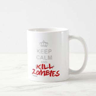 Keep Calm And Kill Zombies - Carry On Gamer Geek Mug