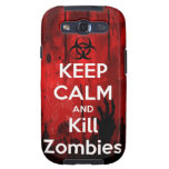 keep calm and kill zombies samsung galaxy SIII covers