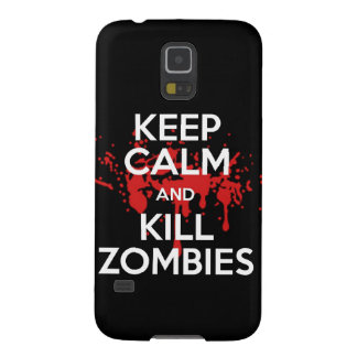 keep calm and kill zombies galaxy s5 cover