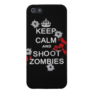 keep calm and kill zombies case for iPhone 5/5S