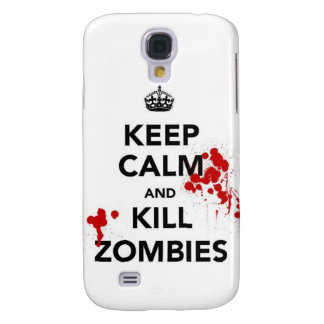 keep calm and kill zombies galaxy s4 case
