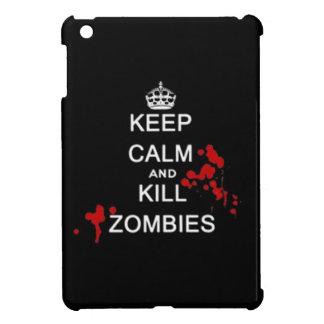 Keep calm and kill zombies walking dead undead fan iPad mini cases