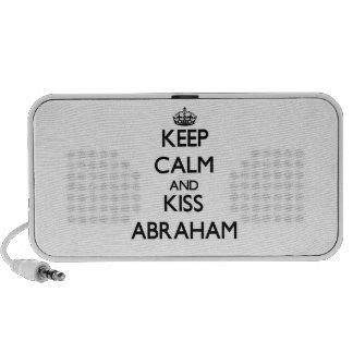 Keep Calm and Kiss Abraham Speaker
