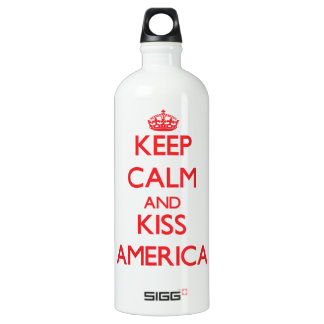 Keep Calm and Kiss America SIGG Traveller 1.0L Water Bottle