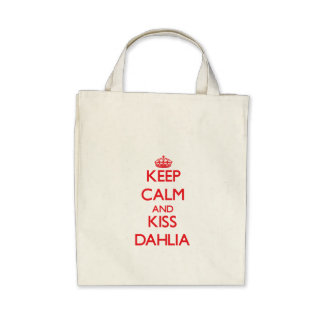 Keep Calm and Kiss Dahlia Bag