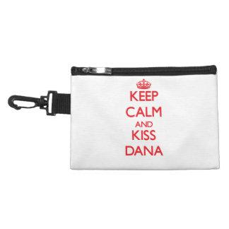 Keep Calm and Kiss Dana Accessory Bags