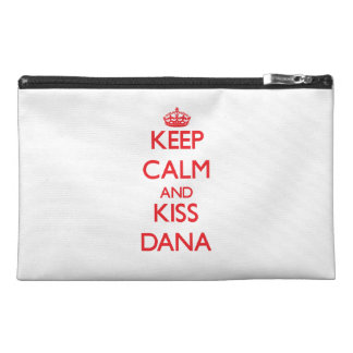 Keep Calm and Kiss Dana Travel Accessory Bag