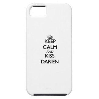 Keep Calm and Kiss Darien iPhone 5 Cover