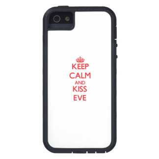 Keep Calm and Kiss Eve Cover For iPhone 5
