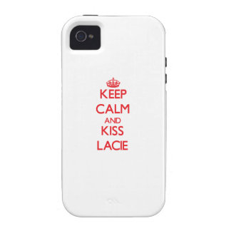 Keep Calm and Kiss Lacie Vibe iPhone 4 Cases