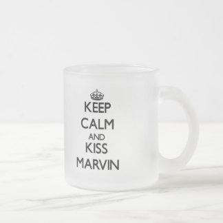 Keep Calm and Kiss Marvin Coffee Mug