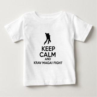 Keep Calm And Krav Maga Fight Tee Shirts