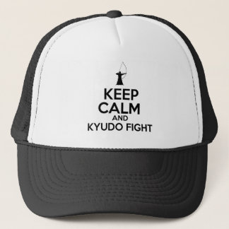Keep Calm And Kyudo Fight Trucker Hat