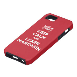 Keep Calm and Learn Mandarin iPhone Case