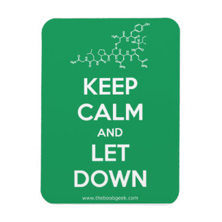 Keep Calm and Let Down magnet
