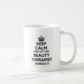 Keep Calm and let the Nanny Handle It Basic White Mug