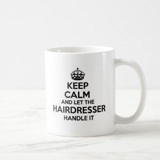 Keep Calm and let the Nanny Handle It Coffee Mug