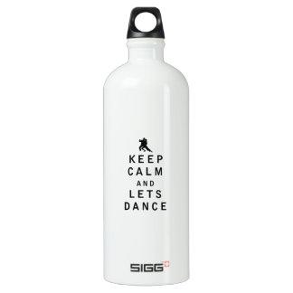 Keep Calm and Lets Dance SIGG Traveller 1.0L Water Bottle