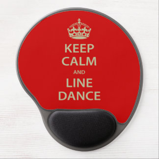 Keep Calm and Line Dance Gel Mouse Pad