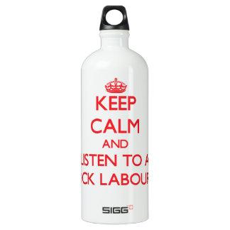 Keep Calm and Listen to a Dock Labourer SIGG Traveller 1.0L Water Bottle