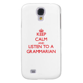 Keep Calm and Listen to a Grammarian HTC Vivid / Raider 4G Cover
