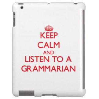Keep Calm and Listen to a Grammarian