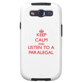 Keep Calm and Listen to a Paralegal Galaxy SIII Cover