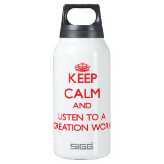 Keep Calm and Listen to a Recreation Worker