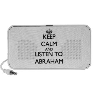 Keep Calm and Listen to Abraham PC Speakers