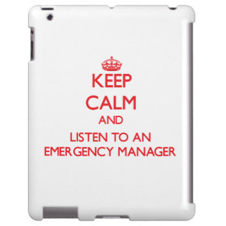 Keep Calm and Listen to an Emergency Manager