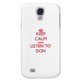 Keep Calm and Listen to Don HTC Vivid / Raider 4G Case