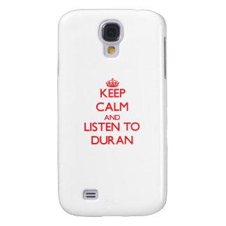 Keep calm and Listen to Duran HTC Vivid / Raider 4G Case