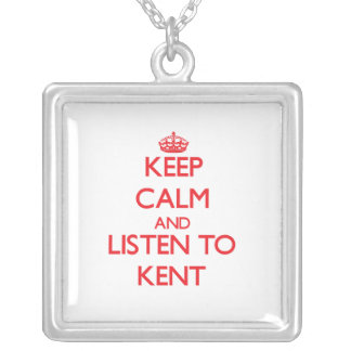 Keep calm and Listen to Kent Necklace