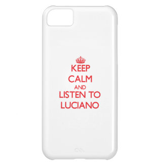 Keep Calm and Listen to Luciano iPhone 5C Case