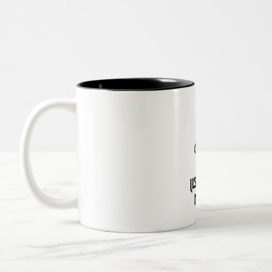 Keep Calm And Listen To Metal Two-Tone Coffee Mug