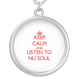 Keep calm and listen to NU SOUL Pendants
