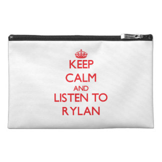 Keep Calm and Listen to Rylan Travel Accessories Bags