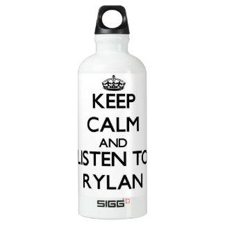 Keep Calm and Listen to Rylan SIGG Traveller 0.6L Water Bottle