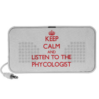 Keep Calm and Listen to the Phycologist Laptop Speaker