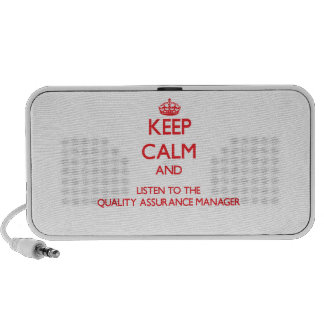 Keep Calm and Listen to the Quality Assurance Mana Portable Speaker