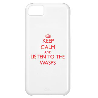 Keep calm and listen to the Wasps iPhone 5C Cover