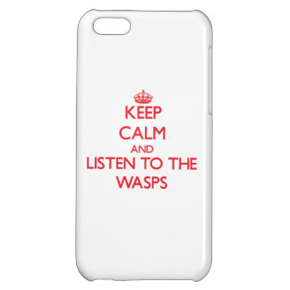 Keep calm and listen to the Wasps iPhone 5C Case
