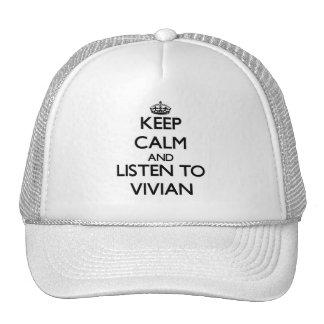 Keep Calm and listen to Vivian Trucker Hats