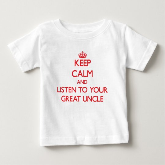 Keep Calm and Listen to your Great Uncle