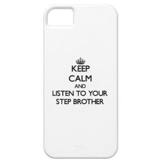 Keep Calm and Listen to  your Step-Brother iPhone 5 Case