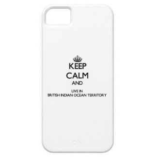 Keep Calm and Live In British Indian Ocean Territo iPhone 5 Cases